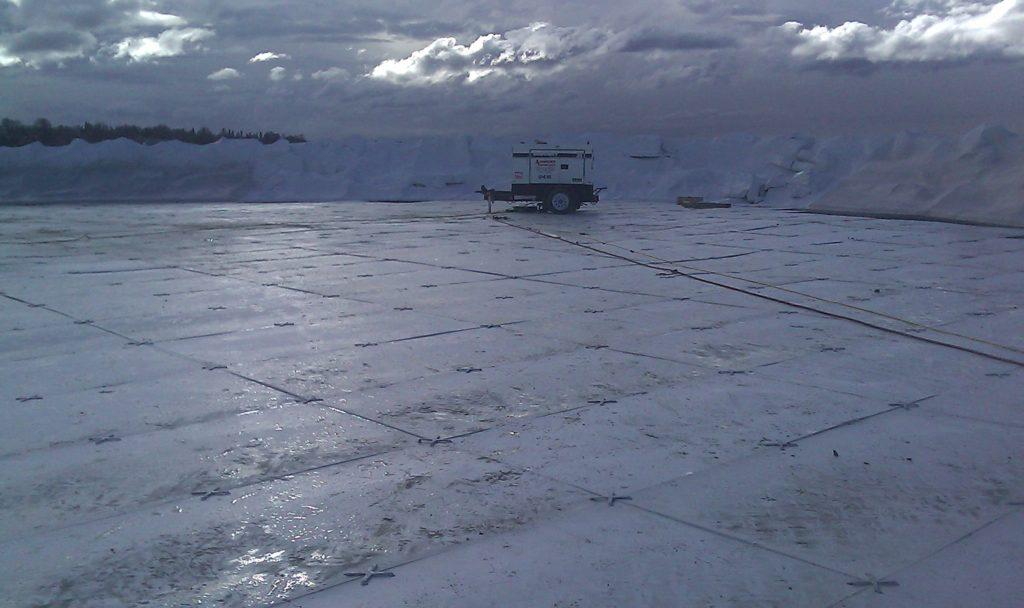 極寒地アラスカ