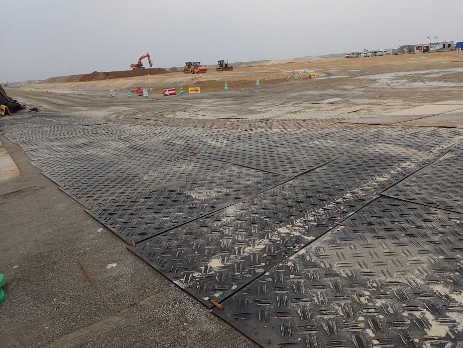 那覇空港滑走路増設工事