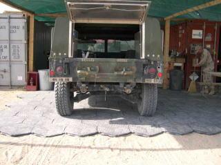 クウェートのアメリカ軍キャンプにて